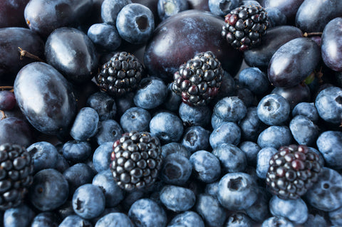 Berries have high antioxidants