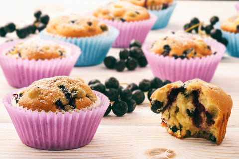 aronia berry muffin