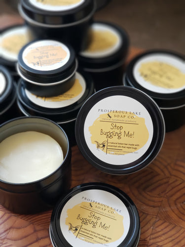 Stop Bugging Me! Lotion Bar