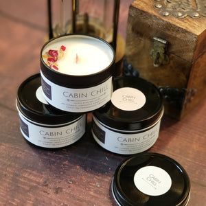 Cabin Chill - Coconut/Soy Wax Candles