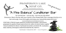 "Load image into Gallery viewer, ""A Fine Balance"" Conditioner Bar 43 gr"