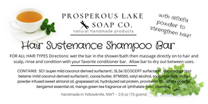 Hair Sustenance Shampoo Bar