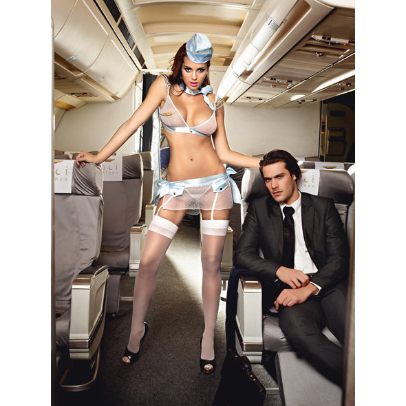 Baci - First Class Flight Attendant One Size-Ligar Seduction