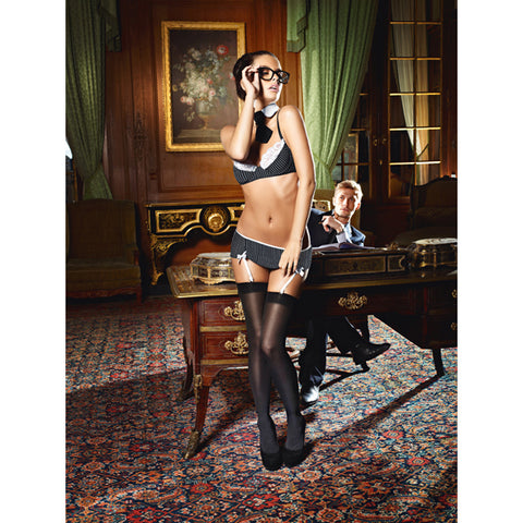 Baci - Sexy Secretary Set M/L-Ligar Seduction