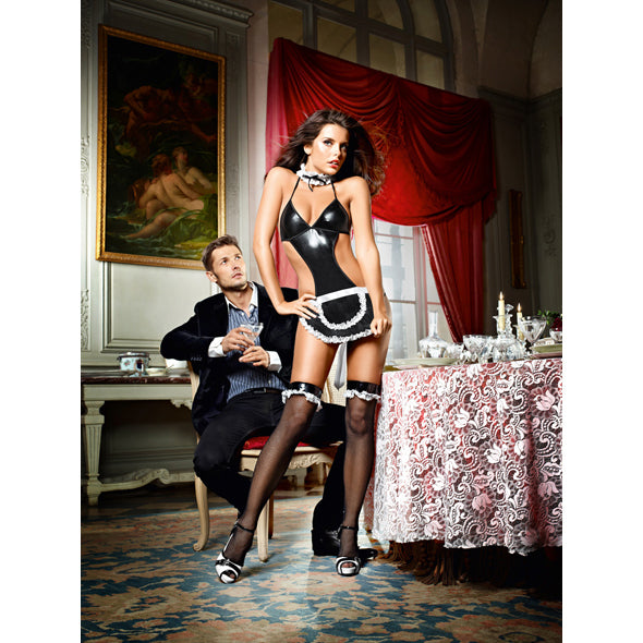 Baci - At Your Service French Maid Set One Size-Ligar Seduction