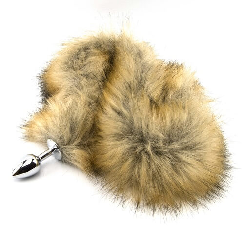 Furry Fantasy Red Fox Tail Butt Plug (PLEASURE FUN TOYS)