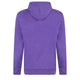 Q Chest Hoodie Purple