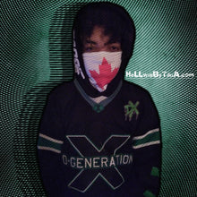 Load image into Gallery viewer, Canadian flag neck gaiter ( face mask )
