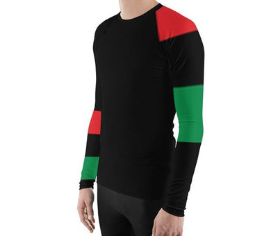 Checkered Past Men's Rash Guard