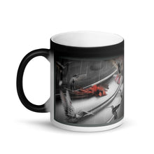 Load image into Gallery viewer, Time is precious Matte Black Magic Mug