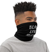 Load image into Gallery viewer, Black Lives Matter Neck Gaiter