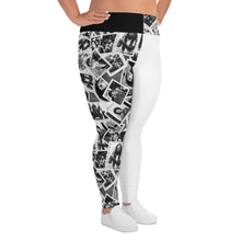 Load image into Gallery viewer, Power to the People Women's Plus Leggings