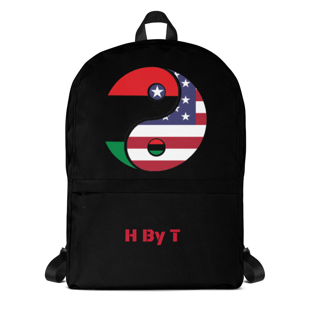 H By T Yin Yang Backpack
