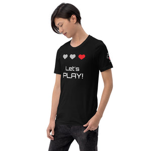Gamer Short-Sleeve Unisex T-Shirt