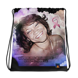 Angel Drawstring bag