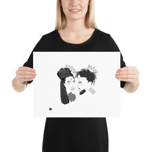 Load image into Gallery viewer, Crown Us Photo paper poster (white background)