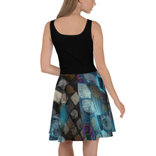 Load image into Gallery viewer, Afro Magic Skater Dress