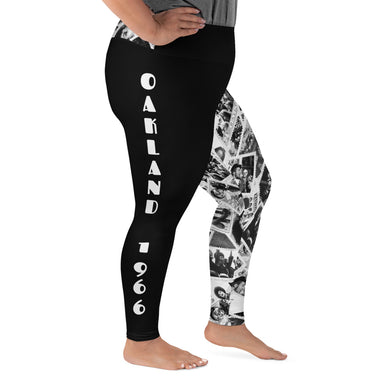 Power to the People Women's Plus Leggings (black)