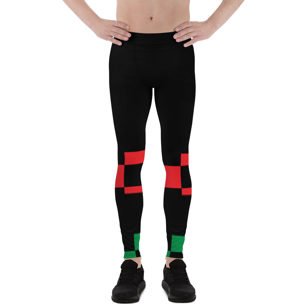 Checkered Past Men's Sports Leggings