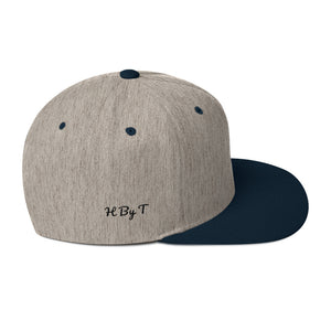 H By T Snapback Hat