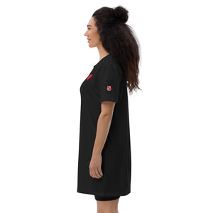 Gamer Organic cotton t-shirt dress