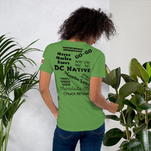 Load image into Gallery viewer, D.C. Raised Me Unisex T-Shirt (flag on sleeve)