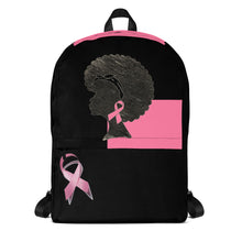 Load image into Gallery viewer, Breast Cancer Awareness Ribbon Backpack