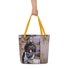 Load image into Gallery viewer, Cockapoo Birthday Beach Bag