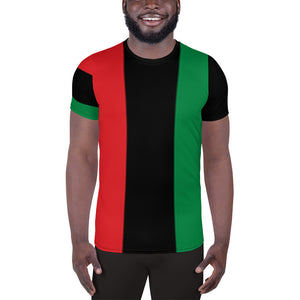RBG Pan-african Men's Athletic T-shirt