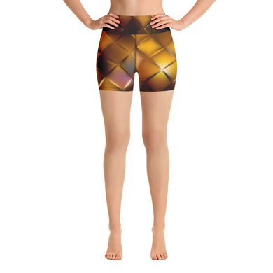 Diamond Tigress Women's Yoga Shorts
