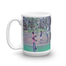 Load image into Gallery viewer, Hoop Dreams with Dad Mug