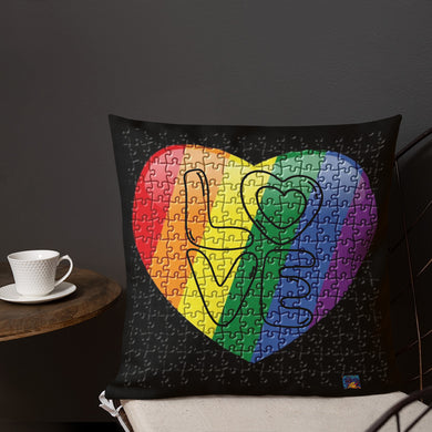 Rainbow Pride Premium Pillow