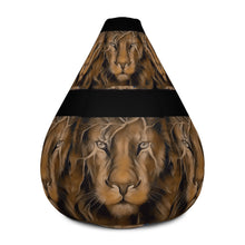 Load image into Gallery viewer, King Lion Bean Bag Chair w/ filling