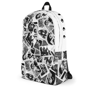 Power to the People Backpack (White)