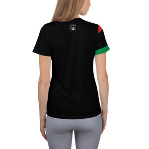 RBG Pan-african Women's Athletic T-shirt