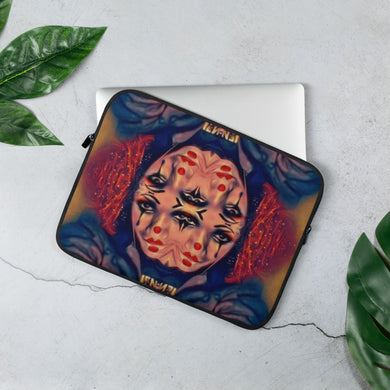Kaleidescope Joke Laptop Sleeve