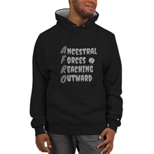Load image into Gallery viewer, Afro Acronym unisex Champion Hoodie