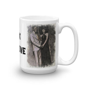 Black Love Mug (White)
