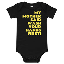 Load image into Gallery viewer, Wash your hands baby T-Shirt