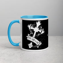 Load image into Gallery viewer, 1 Corinthians 13:13 Mug with Color Inside