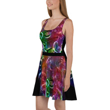 Load image into Gallery viewer, Celestial Goddess Skater Dress