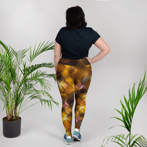 Diamond Tigress Women's Plus Leggings