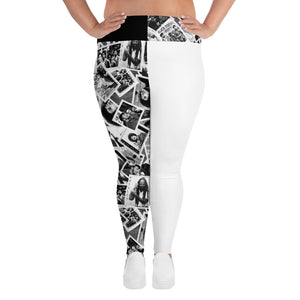 Power to the People Women's Plus Leggings
