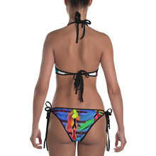 Load image into Gallery viewer, Cancer Ribbon Reversible Bikini