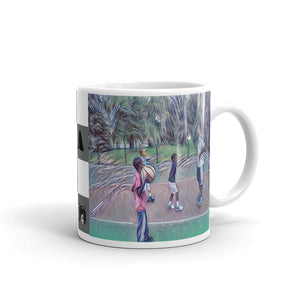 Hoop Dreams with Dad Mug