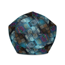 Load image into Gallery viewer, Afro Magic Bean Bag Chair w/ filling