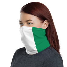 Load image into Gallery viewer, Nigerian flag neck gaiter ( face mask )