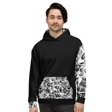 Load image into Gallery viewer, Power to the People Unisex Hoodie (print inside hood)