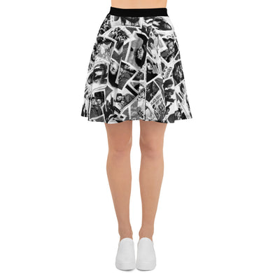 Power To The People Skater Skirt