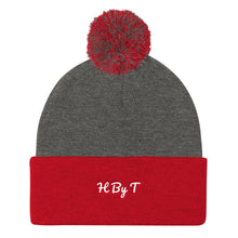 Load image into Gallery viewer, H By T Pom Pom Knit Cap